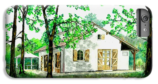 IPhone 7 Plus Case featuring the painting Maison En Medoc by Marc Philippe Joly