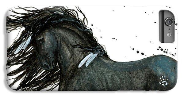 Majestic Friesian Horse 112 IPhone 7 Plus Case by AmyLyn Bihrle