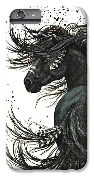 Portraits iPhone 7 Plus Case - Majestic Spirit Horse  by AmyLyn Bihrle