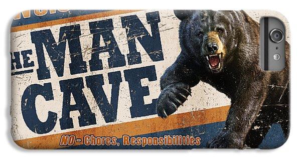 Niagra Falls iPhone 7 Plus Case - Man Cave Balck Bear by JQ Licensing
