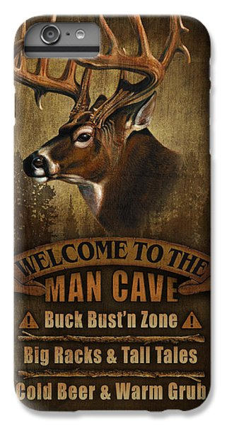 Pheasant iPhone 7 Plus Case - Man Cave Deer by JQ Licensing