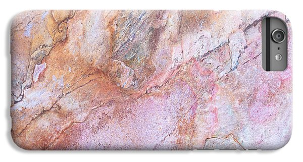 Marble Background IPhone 7 Plus Case by Anna Om