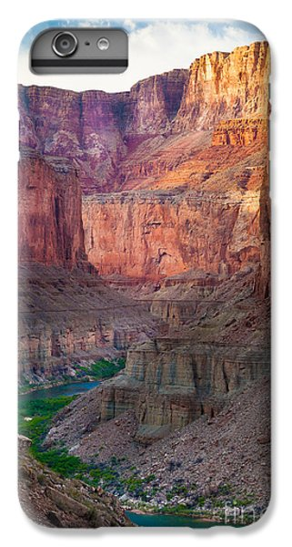 Marble Cliffs IPhone 7 Plus Case by Inge Johnsson