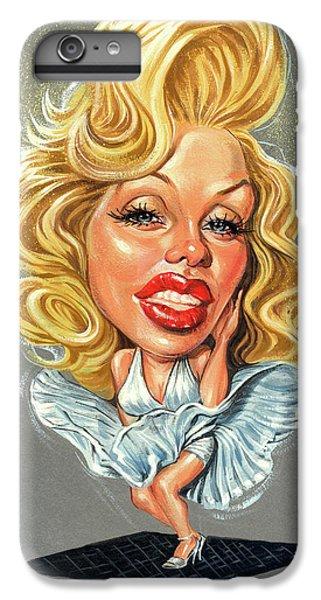 Marilyn Monroe IPhone 7 Plus Case by Art