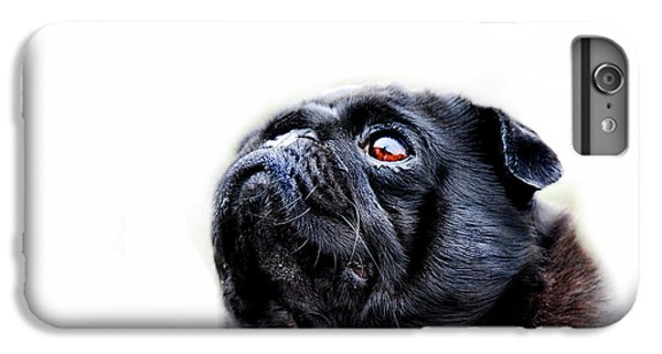 Pug iPhone 7 Plus Case - Martha by Mark Rogan