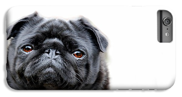 Pug iPhone 7 Plus Case - Martha Pug by Mark Rogan