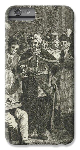 Jazz iPhone 7 Plus Case - Masquerade, Lambertus Antonius Claessens by Lambertus Antonius Claessens