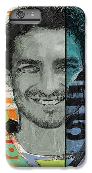 Cristiano Ronaldo iPhone 7 Plus Case - Mats Hummels - B by Corporate Art Task Force