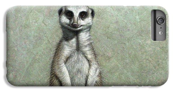 Meerkat iPhone 7 Plus Case - Meerkat by James W Johnson