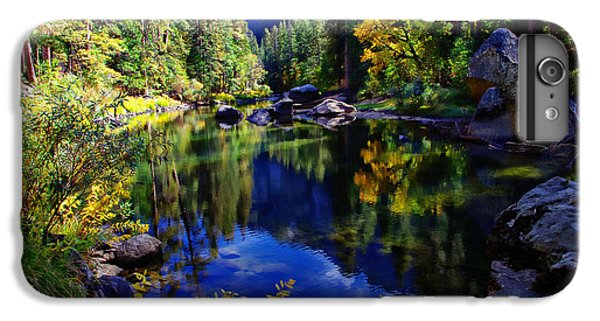 Merced River Yosemite National Park IPhone 7 Plus Case by Scott McGuire