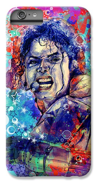 Michael Jackson iPhone 7 Plus Case - Michael Jackson 11 by Bekim Art