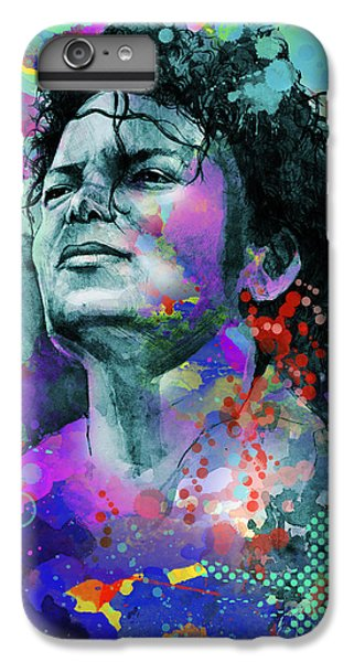 Michael Jackson iPhone 7 Plus Case - Michael Jackson 12 by Bekim Art