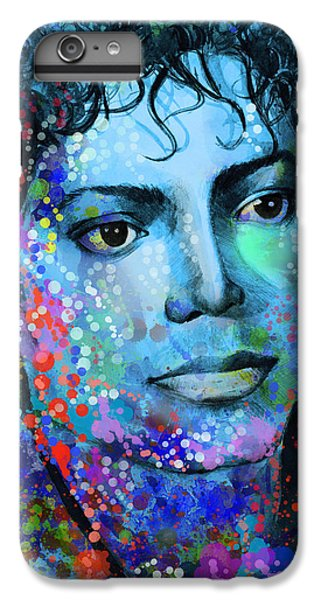 Michael Jackson iPhone 7 Plus Case - Michael Jackson 14 by Bekim Art