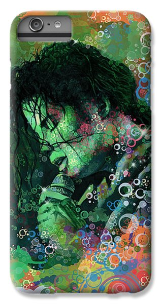 Michael Jackson iPhone 7 Plus Case - Michael Jackson 15 by Bekim Art
