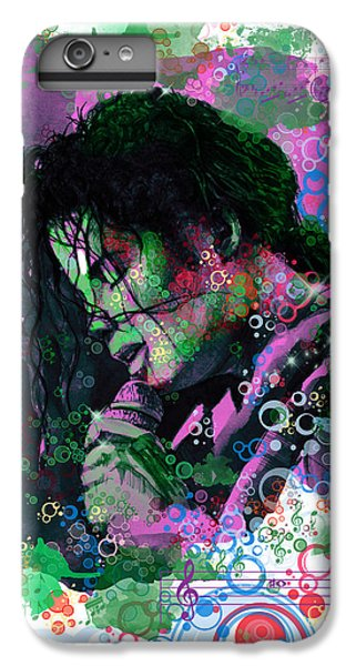 Michael Jackson iPhone 7 Plus Case - Michael Jackson 16 by Bekim Art