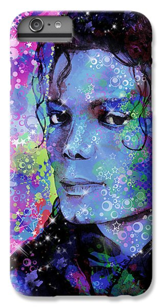 Michael Jackson iPhone 7 Plus Case - Michael Jackson 17 by Bekim Art