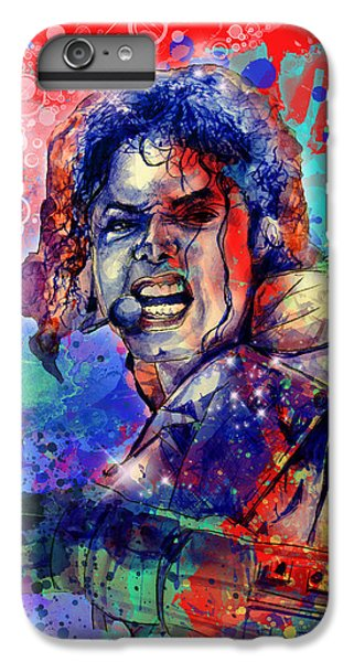 Michael Jackson iPhone 7 Plus Case - Michael Jackson 8 by Bekim Art