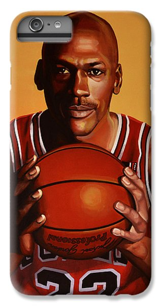 Athletes iPhone 7 Plus Case - Michael Jordan 2 by Paul Meijering