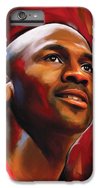 Michael Jordan Artwork 2 IPhone 7 Plus Case by Sheraz A
