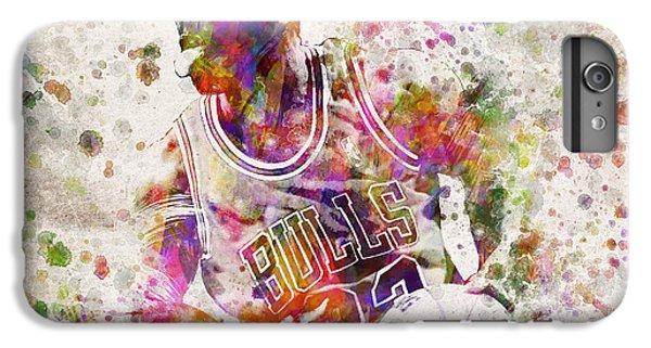 Michael Jordan In Color IPhone 7 Plus Case by Aged Pixel