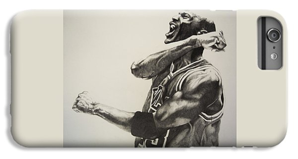 Athletes iPhone 7 Plus Case - Michael Jordan by Jake Stapleton