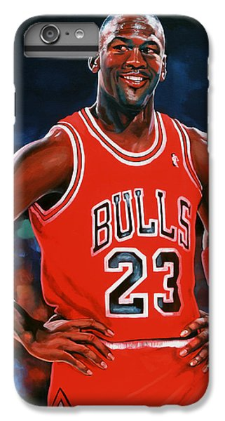 Michael Jordan IPhone 7 Plus Case by Paul Meijering