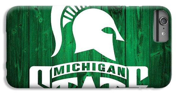 Michigan State Barn Door IPhone 7 Plus Case by Dan Sproul