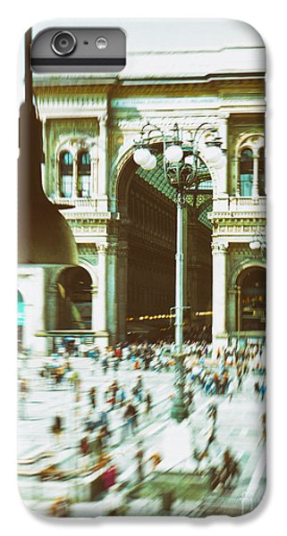 IPhone 7 Plus Case featuring the photograph Milan Gallery by Silvia Ganora