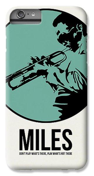 Jazz iPhone 7 Plus Case - Miles Poster 1 by Naxart Studio