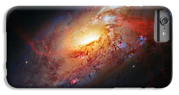 Science Fiction iPhone 7 Plus Case - Molten Galaxy by Jennifer Rondinelli Reilly - Fine Art Photography