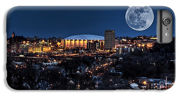 Moon Over The Carrier Dome IPhone 7 Plus Case by Everet Regal