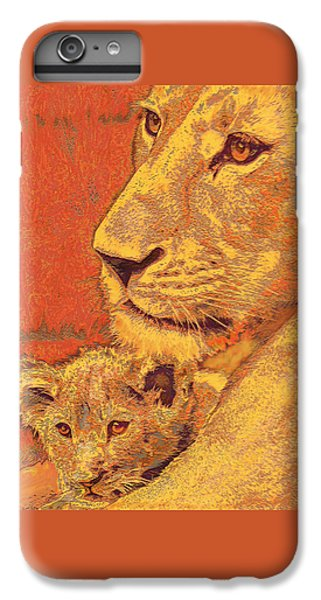 Mother And Cub IPhone 7 Plus Case