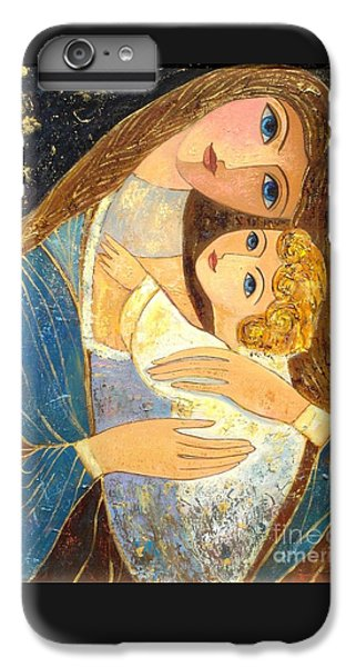 iPhone 7 Plus Case - Mother And Golden Haired Child  by Shijun Munns