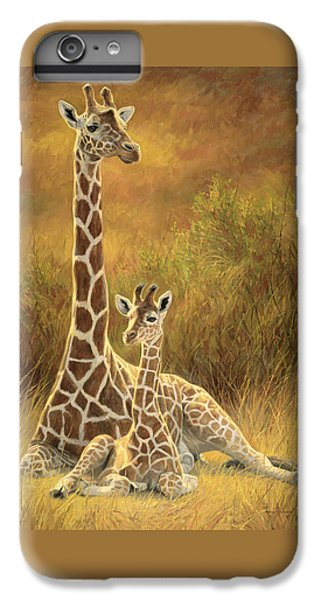Mother And Son IPhone 7 Plus Case by Lucie Bilodeau