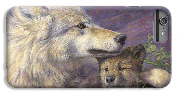 Wolves iPhone 7 Plus Case - Mother's Love by Lucie Bilodeau