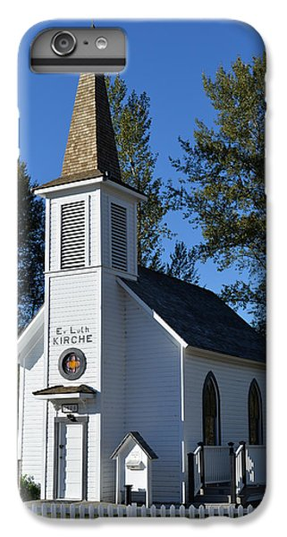 IPhone 7 Plus Case featuring the photograph Mountain Chapel by Anthony Baatz