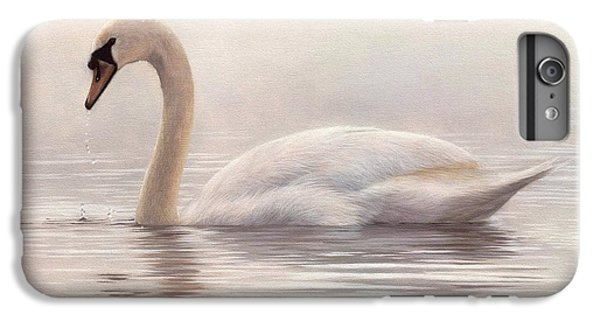 Mute Swan Painting IPhone 7 Plus Case by Rachel Stribbling