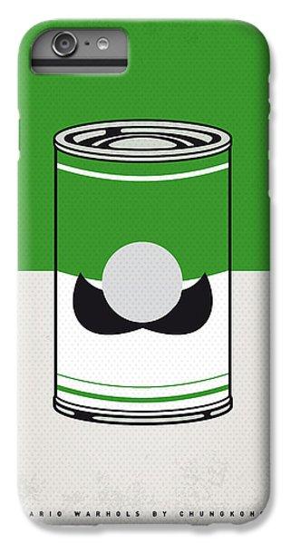 Donkey iPhone 7 Plus Case - My Mario Warhols Minimal Can Poster-luigi by Chungkong Art