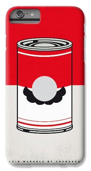 Donkey iPhone 7 Plus Case - My Mario Warhols Minimal Can Poster-mario by Chungkong Art