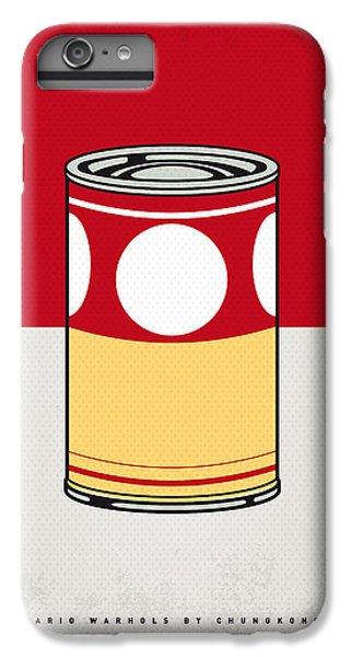 Donkey iPhone 7 Plus Case - My Mario Warhols Minimal Can Poster-mushroom by Chungkong Art