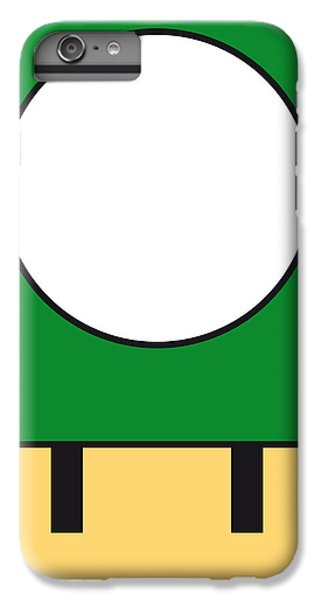 Castle iPhone 7 Plus Case - My Mariobros Fig 05b Minimal Poster by Chungkong Art