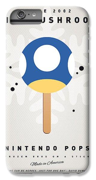 Donkey iPhone 7 Plus Case - My Nintendo Ice Pop - Mini Mushroom by Chungkong Art