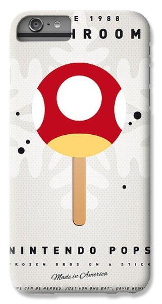 Donkey iPhone 7 Plus Case - My Nintendo Ice Pop - Mushroom by Chungkong Art