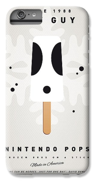 Peach iPhone 7 Plus Case - My Nintendo Ice Pop - Shy Guy by Chungkong Art