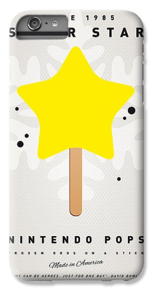 Peach iPhone 7 Plus Case - My Nintendo Ice Pop - Super Star by Chungkong Art