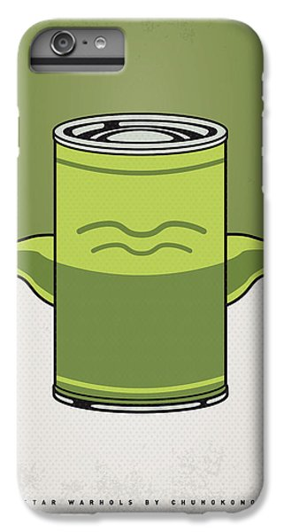My Star Warhols Yoda Minimal Can Poster IPhone 7 Plus Case