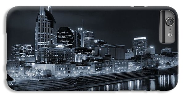 Nashville Skyline At Night IPhone 7 Plus Case by Dan Sproul