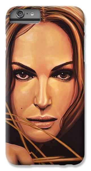 Swan iPhone 7 Plus Case - Natalie Portman by Paul Meijering