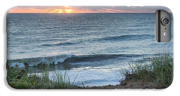 Nauset Light Beach Sunrise Square IPhone 7 Plus Case by Bill Wakeley