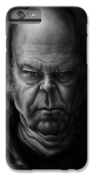 Neil Young IPhone 7 Plus Case by Andre Koekemoer